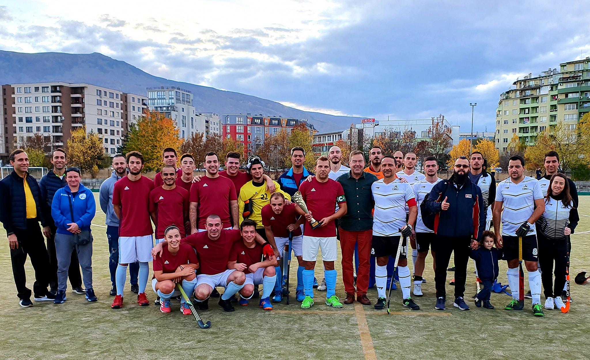 Академик Плюс – носител на XXVI Купа на България по хокей